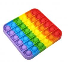 Сенсорная игрушка антистресс Pop It  Музыкальные пупырышки Поп Ит  тренд весны 2021!  квадрат музыкальные пузырьки тыкалка