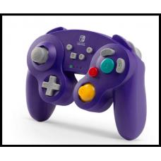 Беспроводной контроллер PowerA в стиле GameCube для Nintendo Switch - фиолетовый