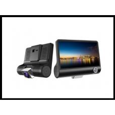 Универсальный видеорегистратор DVR SEZAM T725 на 3 камеры 4.0 дюймовый IPS экран код T725