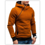Толстовка, реглан, куртка с капюшоном размер L Код 64 коричневая