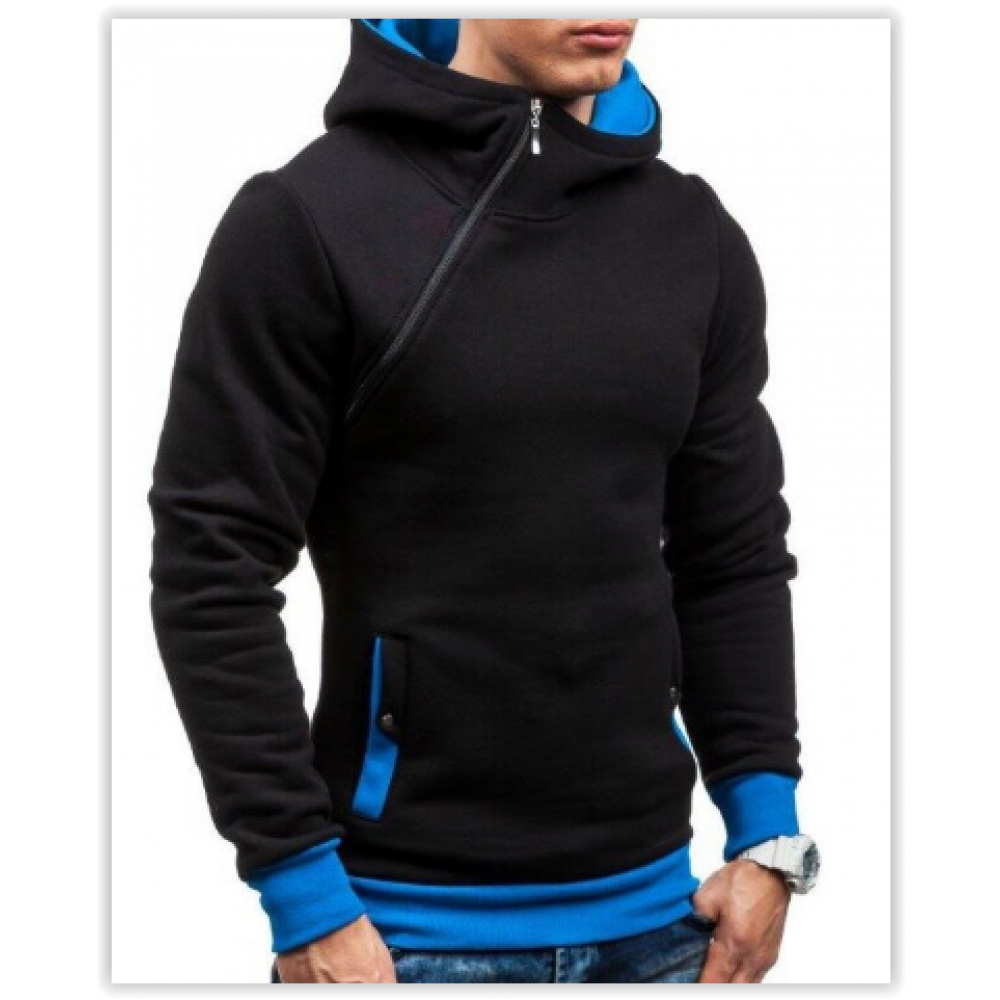 Толстовка, реглан, куртка с капюшоном размер L, XL Код 64 черная