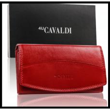 Кошелек женский Cavaldi натуральная кожа Польша код 300 красный
