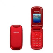 Раскладушка Samsung E1272 Duos Garnet Red  УЦЕНКА