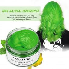 Окрашивающий воск для волос Mofajang зеленый