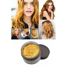 Окрашивающий воск для волос Mofajang золотой