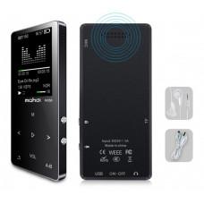 MP3 Плеер Mahdi M320 8Gb, 80 часов работы без подзарядки, черный