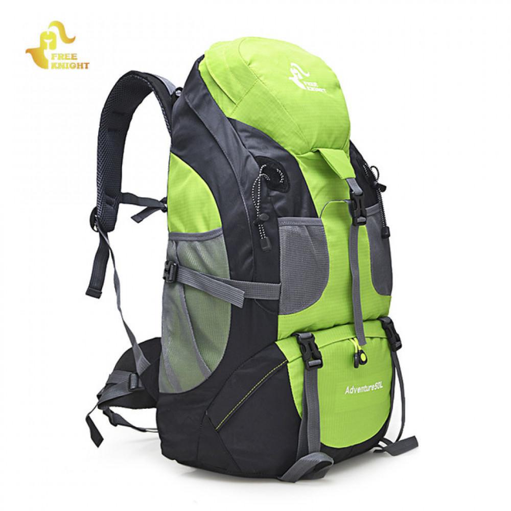 Трекинговый Рюкзак Adventure 50L ( Видеообзор ) зеленый