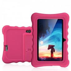 """Детский планшет Ainol Q88  детский розовый 7"""" дисплей  с чехлом + подарок Сенсорная игрушка антистресс Pop It тренд весны 2021"""