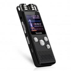 Цифровой диктофон Savetek GS-R07 original, 4 Гб памяти, стерео, SD до 64 Гб