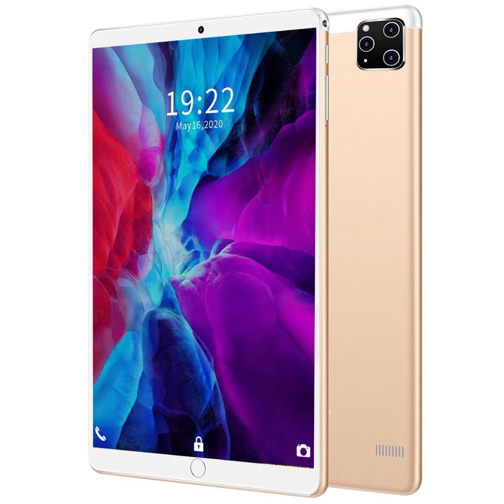 """Планшет телефон  I12  железный 12 ядер, 10.1 """", 3Gb RAM / 32Gb Rom, GPS, 2 sim золотой"""