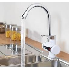 Водонагреватель проточный кран с LCD экраном, кран для нагрева воды