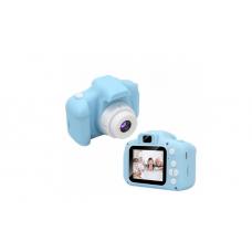 Детский цифровой фотоаппарат  JYC X02 голубой 400 мАч 8 мегапикселей