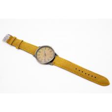 Наручные часы джинсовые 2Life Желтый (n-444)