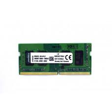 Оперативная память Kingston SODIMM DDR4 2400 4096MB PC4-19200 (KVR24N17S8/4)