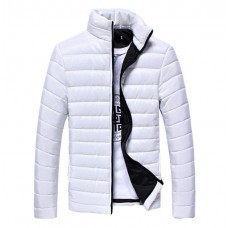 Стильная мужская куртка весна-осень  Hb10707a  Размер M, L, XL, 2XL 3XL белая
