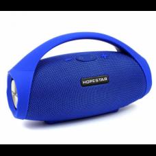 Портативная Bluetooth колонка акустическая с ручкой Hopestar H32 Blue Original (H2549BO-1)