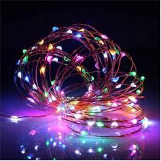 Светодиодная гирлянда нить LTL 19 м 200led Разноцветная (817707022)