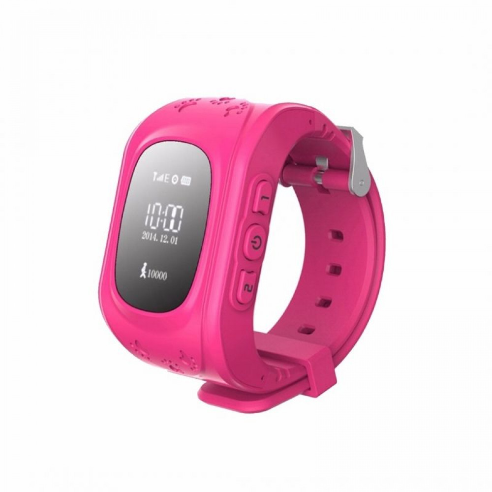 Детские умные часы  Q50 розовые.