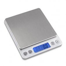Электронные весы ювелирные UKC с 2-мя чашами 0.1-3000 г Grey (004469)