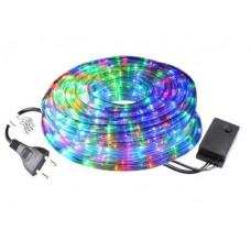 Гирлянда Дюралайт светодиодный шланг RGB круглый 30 метров 540 led 8 режимов (hub_Vyoy31232)