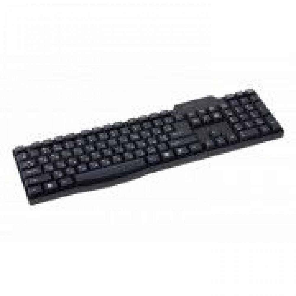 Проводная клавиатура MAXXTER KB-111-U USB BLACK