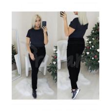 Джинсы женские американка черная на флисе батал New Jeans 3509 АРТ.: 1101801