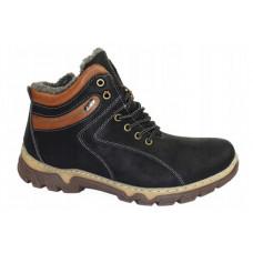 Мужские зимние ботинки на шнурках, р.41-46