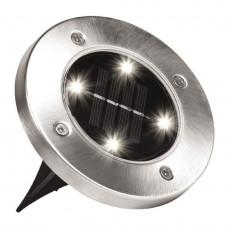 Уличный светильник на солнечной батарее HMD Disk lights 8 led (119-8623835)