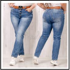 Бойфренды, джинсы с ремнём dknsel 9022