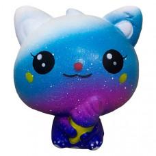 Антистресс Squishy Космический котенок Синий (tdx0000312)