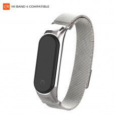 Ремешок Armorstandart Milanese Magnetic Band для Xiaomi Mi Band 4 Satin Silver (ARM55096)