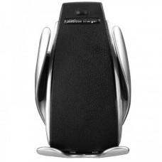 Универсальный автомобильный держатель с беспроводной зарядкой Smart Sensor S5 Wireless charger Черный (HS510)