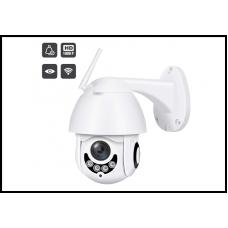 Камера видеонаблюдения Full HD 1080P Наружная водонепроницаемая беспроводная PTZ-камера с ночным видением Wi-Fi