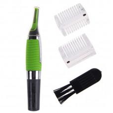 Триммер бритва для стрижки усов бакенбардов бороды носа Microtouch Универсальный Зеленый (200161)