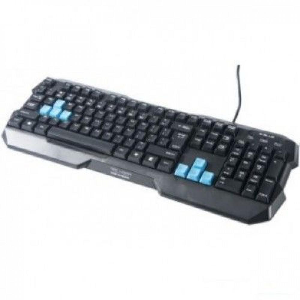 Проводная клавиатура E-BLUE Polygon EKM075BKR
