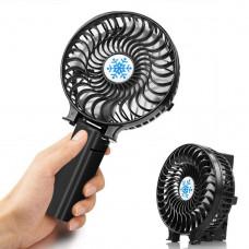 Портативный настольный вентилятор Handy Mini Fan Черный