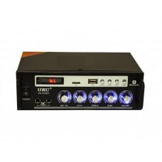 Усилитель звука Bluetooth караоке UKC SN-838BT Black (006637)