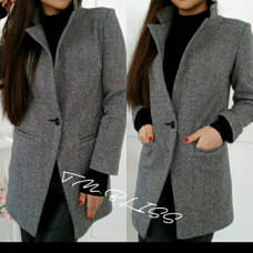 Пальто серое турецкого производства