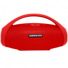 Портативная Bluetooth колонка акустическая с ручкой Hopestar H32 Red Original (H2549RO)