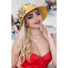 Шляпа «Сюзет» (горчичный) Braxton