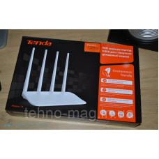 WiFi роутер Tenda F6 (N300, 1FE*Wan, 3FE*Lan, 4 антенны по 5дБи)