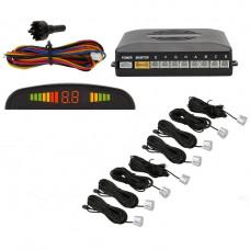 Парковочная система Parking Sensor System R1355 c LED дисплеем 8 датчиков (AS101005328)