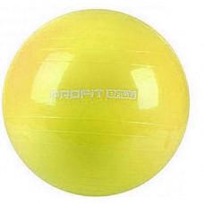 Фитбол мяч для фитнеса Profit 85 см усиленный 0384 Желтый (007316)
