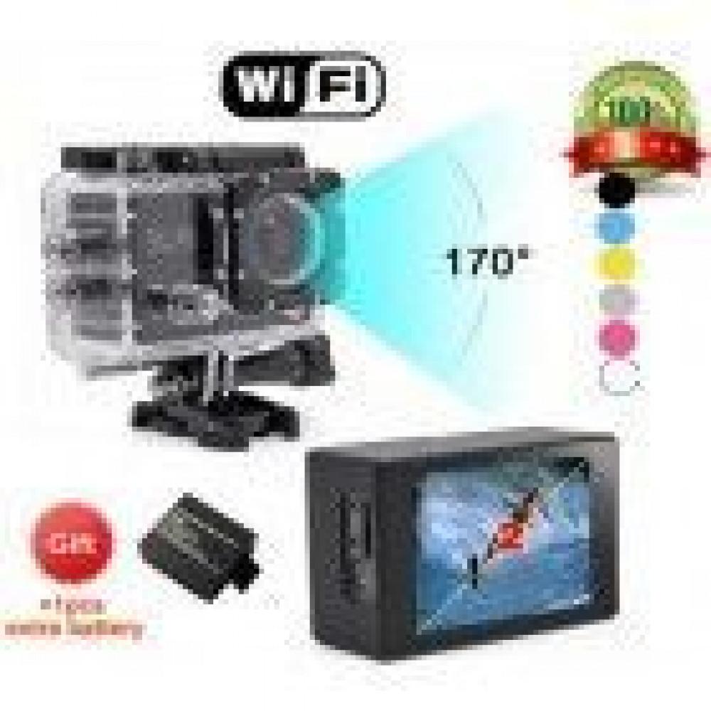 Экшн камера 6000 wi-fi FULLHD 1080P lcd 2.0 Выход HDM
