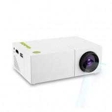 Проектор Led Projector YG 310 портативный мультимедийный с динамиком Белый (007125)