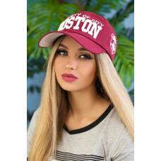 Кепка «Бостон» (бордовый) Braxton