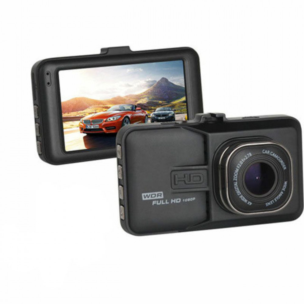 Автомобильный видеорегистратор F-03 HD качество