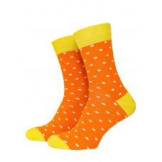 Носки с принтом женские Mushka Apelsinka DOW001 36-40 Оранжевые (009472)