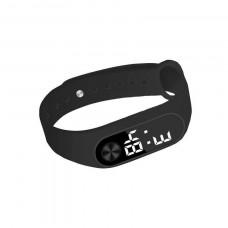 Часы-браслет Led Watch 2 Черные (hub_lmqp62350)