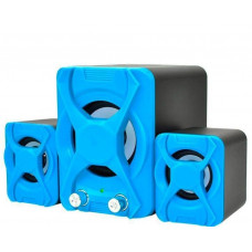 Колонки для компьютера USB 2.1 YIDO YD-XSD-2 Blue (007437)